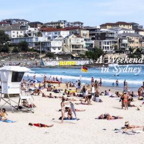 Travel: A Weekend in Sydney