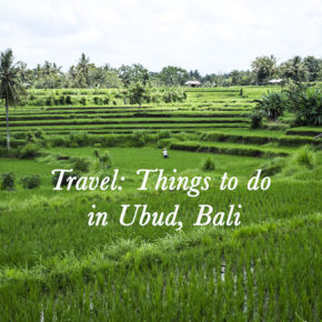 Travel: Things to do in Ubud, Bali