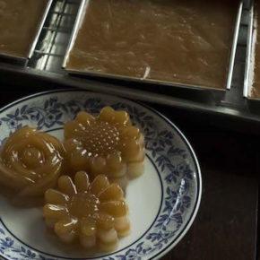 Khanom Chan - Thai Steamed Layered Dessert