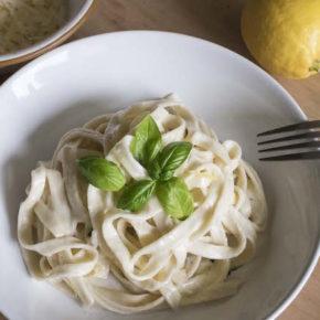 Lemon Cream Pasta Recipe