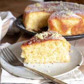 Lemon ginger cinnamon cake recipe