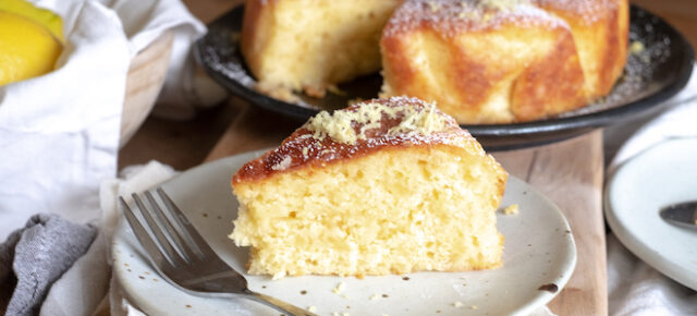 Lemon ginger cinnamon cake recipe